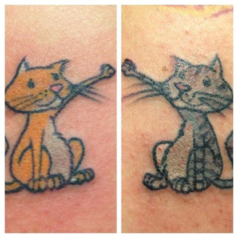 couple kitty tattoo couples tattoos that totally nail it