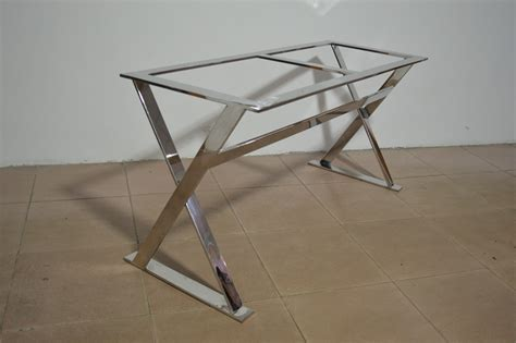 stainless steel dining table frame metal table frame buy