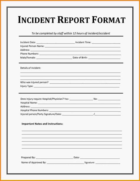How To Write A Security Report
