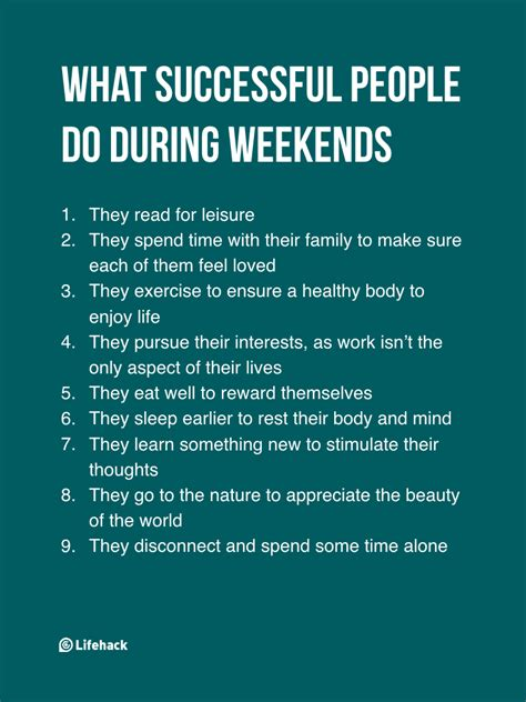 8 Tips On Being More Successful In by They Think Successful Work During Weekends But The