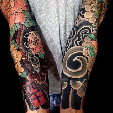 japanese peony black and grey sleeve by darko peony sleeve www pixshark images galleries