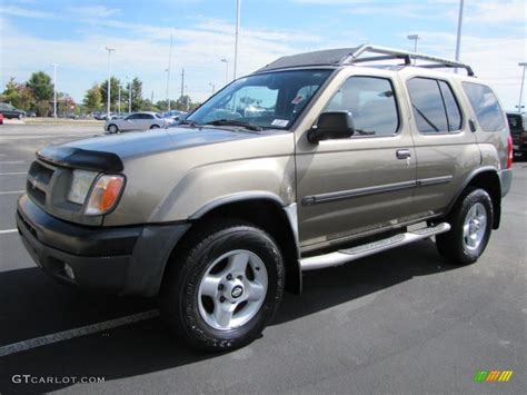 2001 gold metallic nissan xterra se v6 38277237 gtcarlot car color galleries