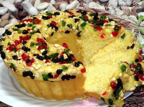 ordinary kitchen brudel cake manado