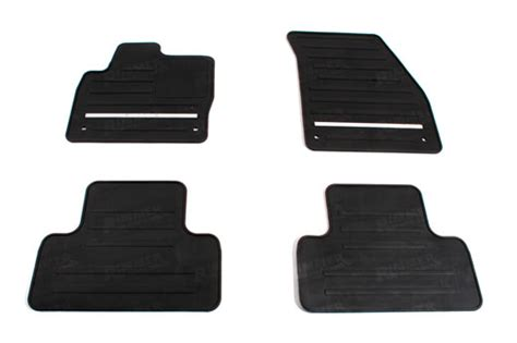 Range Rover Rubber Floor Mats by Range Rover Evoque Rubber Floor Mat Set Lhd Genuine