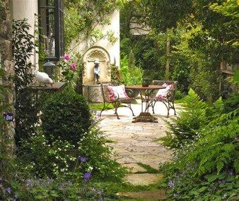 Garden flea markets are a great way to score vintage garden furniture