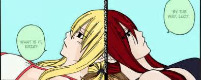 Fairy tail chapter 298 lucy and erza by roxamine13 on deviantart