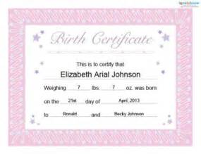 free printable baby book birth certificate 2017 2018