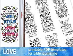 journaling templates free bible journaling printable templates illustrated