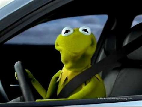 Kermit The Frog Meme Driving - bmw 1 series commercial with kermit youtube