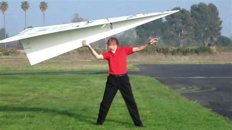 the biggest boat in the whole wide world world record rc paper airplane 2 youtube