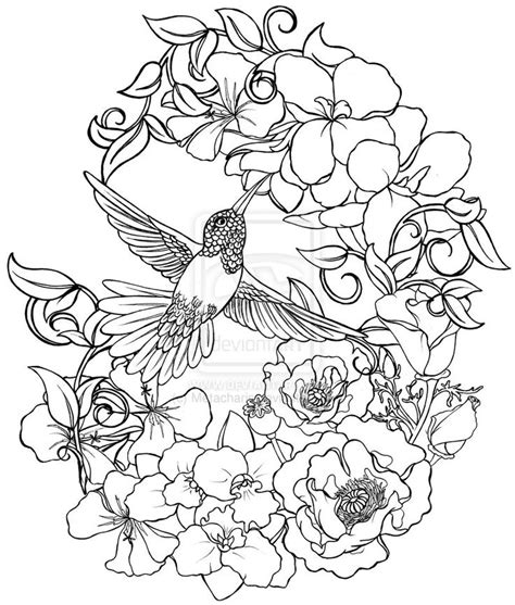 coloring book birds and flowers stress relief coloring book garden designs mandalas animals florals and paisley patterns books hummingbird coloring pages bestofcoloring