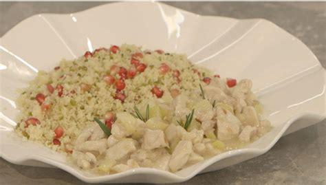 ricette di cucina di benedetta parodi ricette benedetta parodi cous cous di pollo e melograno
