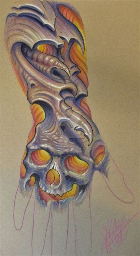 organic tattoo nyc 17 best images about biomechanical on pinterest sleeve