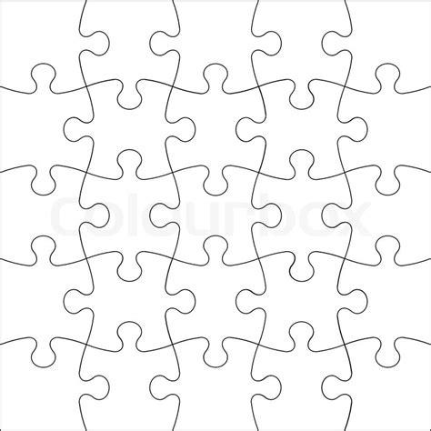 jigsaw pattern svg background vector illustration jigsaw puzzle stock
