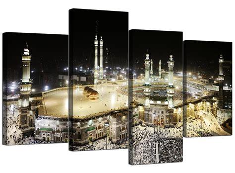 islamic canvas pictures  mecca kaaba  hajj  bedroom