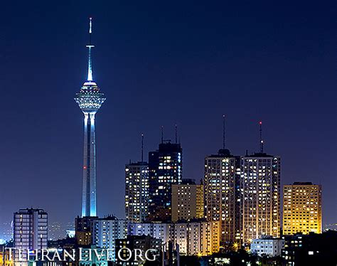 milad tower and mahestan towers | tehran live