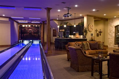 new construction traditional basement dallas by