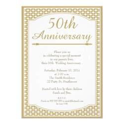50th wedding anniversary invitation 11 cm x 16 cm invitation card zazzle