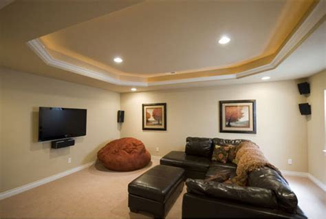 Lighting Ideas For Basement Minimalist Lighting Ideas For Basement
