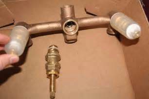 Three Handle Shower Faucet Repair Plumbing How To Fix A Bathtub Faucet That Leaks Only