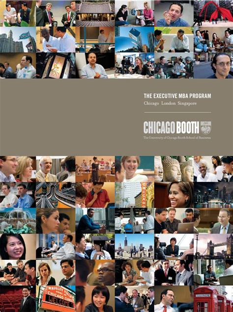 Chicago Booth Part Time Mba Tuition by Viewbookxp 2009 10 By Chicago Booth Issuu