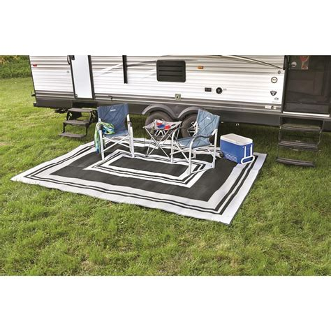 9x18 hawaiian indoor outdoor reversible rv mat from