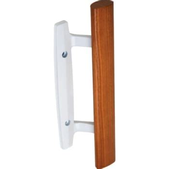 white sliding glass door handle 3 15 16 quot surface sliding glass door handle white hd supply