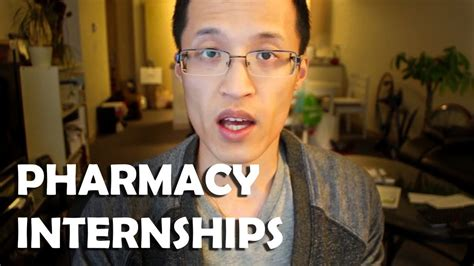 How To Prepare To Be A Pharmacist by How To Prepare For Pharmacy Internships