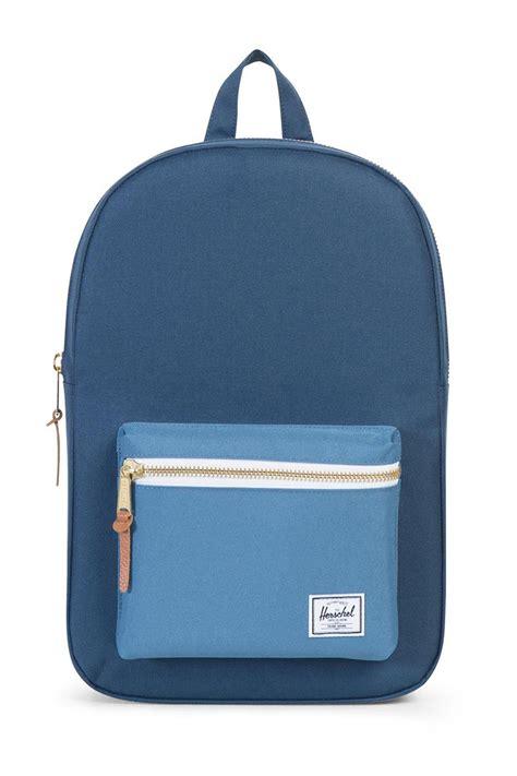 Original Herschel Settlement Mid Volume Backpack Navy herschel supply co settlement mid volume backpack navy captain s blue paperinos