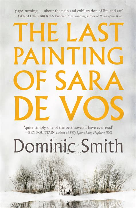 The Last Painting Of De Vos By Dominic Smith Large Print Edition the last painting of de vos dominic smith