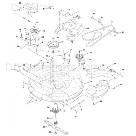 mcculloch parts diagram mcculloch m115 77rb 96041016502 2011 parts diagram page 8