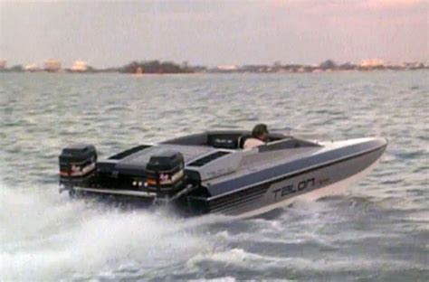 miami vice on a boat photos miami vice boats sonny crockett s talon