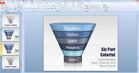 Funnel Diagram Powerpoint Template Funnel Ppt Template Free