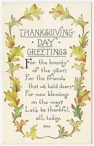 Ideas about vintage thanksgiving on pinterest thanksgiving greetings