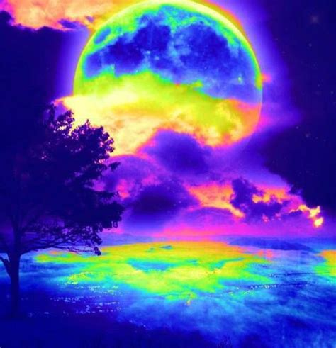 colorful moon wallpaper 385 best images about 796 neon color bright mix colorblock
