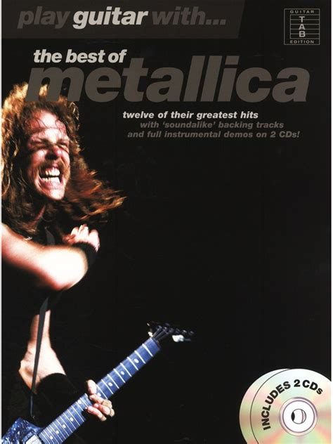the best of metallica spartiti biz play guitar with the best of metallica