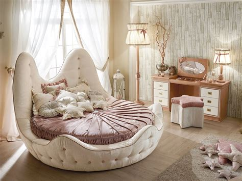 round bed round bed with tufted headboard home decorating trends