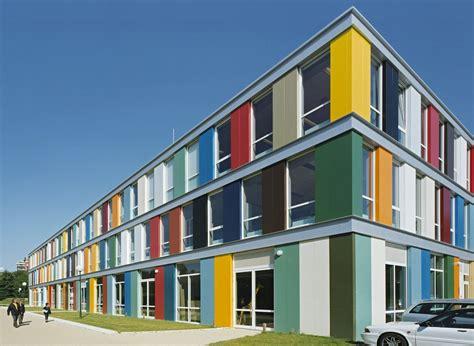 school colors building color design 搜尋 elevation 立面 school