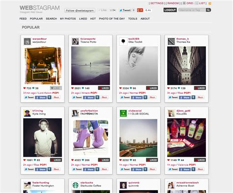Webstagram Search Webstagram Creates Forum For Instagram Users