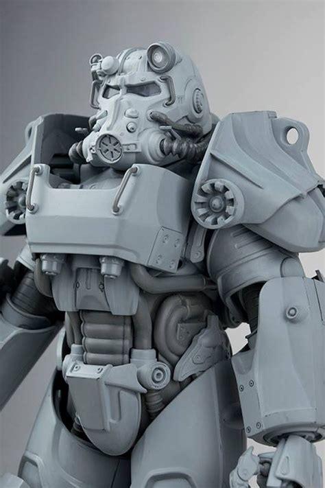 fallout 3 figures threezero fallout power armor figures mightymega