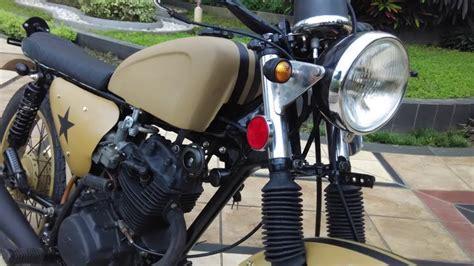 Japstyle Basis Honda Gl 125 jual cb style modifikasi motor japstyle terbaru