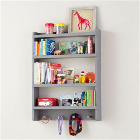 kids wall rack white hanging wall book shelf the land shelves and wall pegs kids room decor