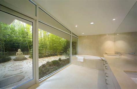 modern bathroom interior landscape iroonie com стеклянный дом с полукруглыми стенами в сша блог