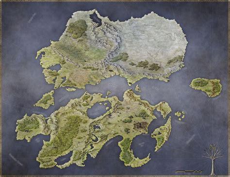 map creation world of rhune fantastic maps