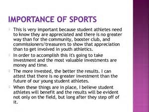 Importance Of School Essay by Importance Of Sports And In School Essay