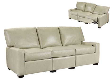 reclining leather sofas valpo leather reclining sofa