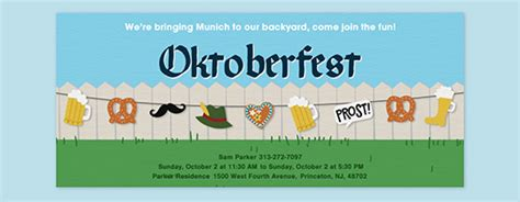 oktoberfest invitation template oktoberfest free invitations