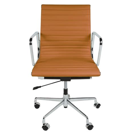 ribbed leather office chair adammayfield co the inventors leather back ribbed style office chair the inventors from only home uk