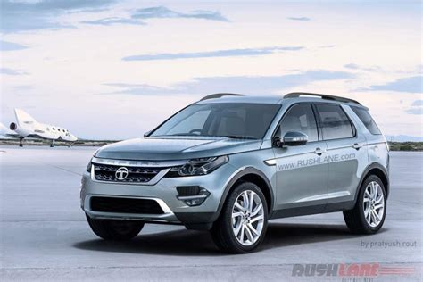 Tata Safari Rendered With Land Rover Discovery Sport Styling