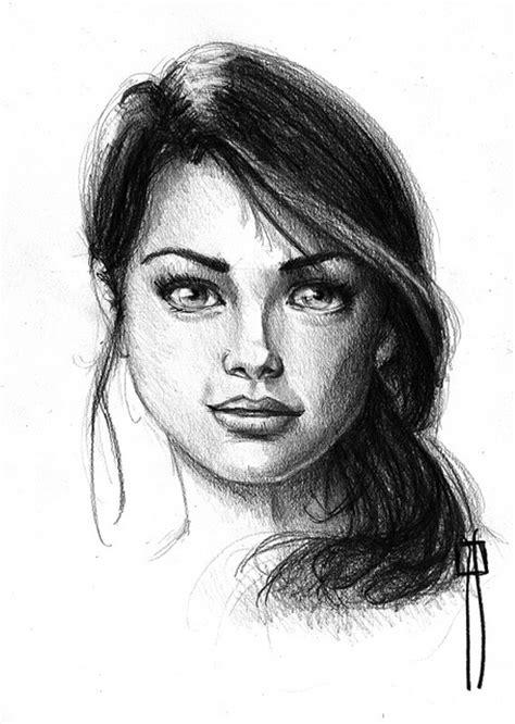 imagenes a lapiz de rostros dibujos rostros de mujer a lapiz imagui